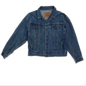 Levi's Vintage White Tag Denim Jacket Youth